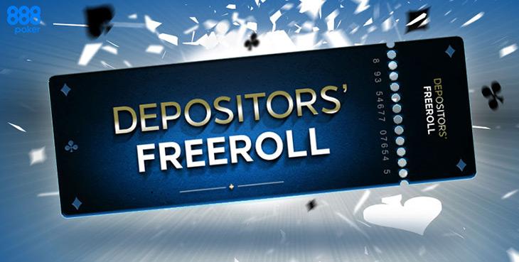 За первый депозит покеристы на 888poker получают билет на фриролл с призовым фондом 1000$.